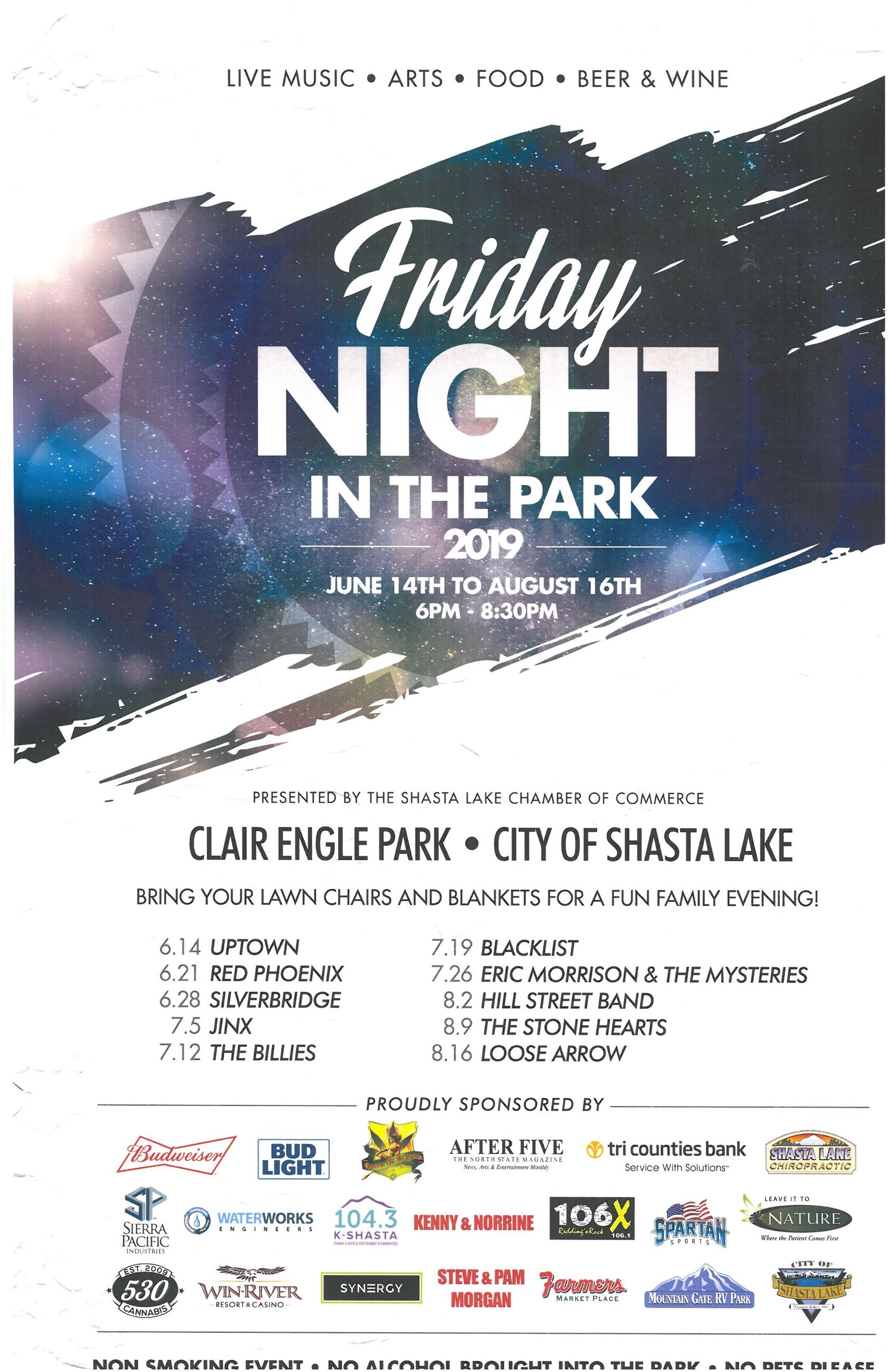 Friday Night in the Park 2019 a