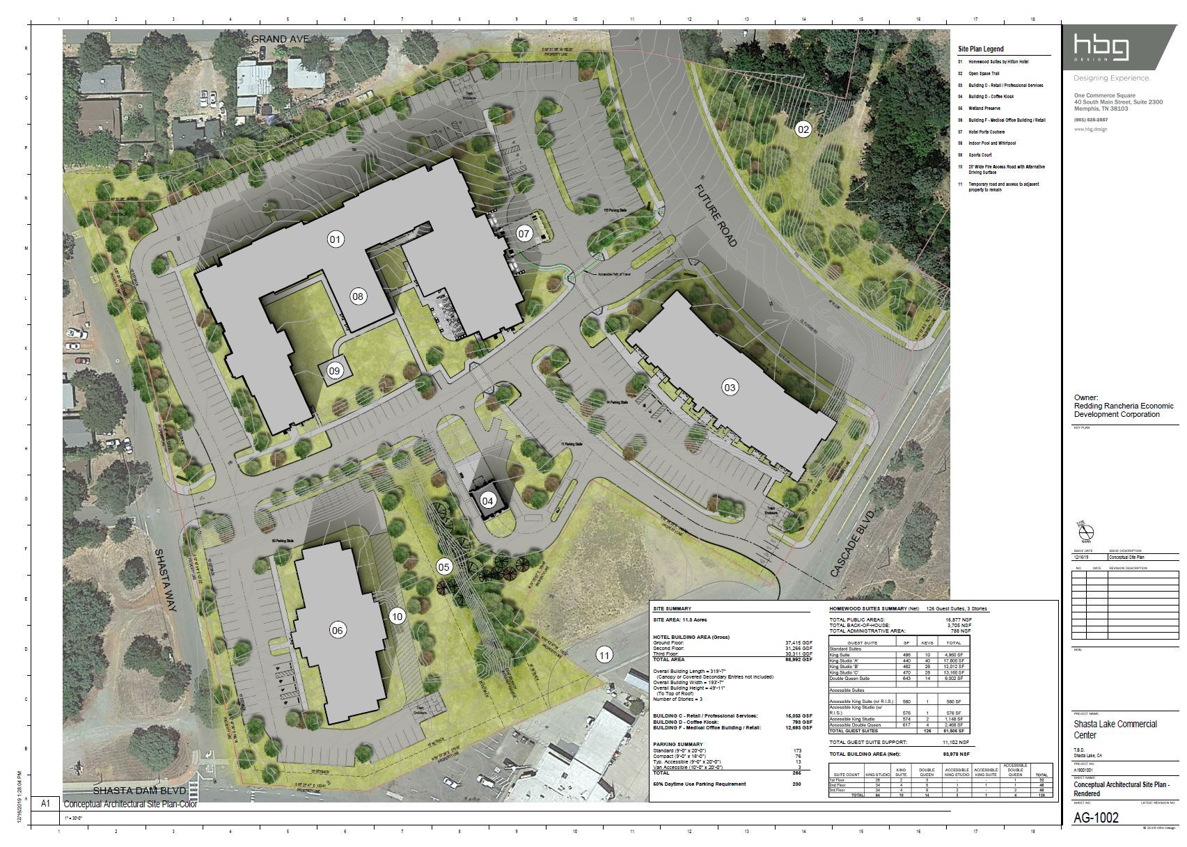 RREDCO Commercial Center Site Plan